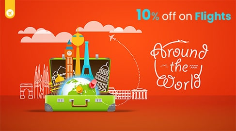 10% off on Flights